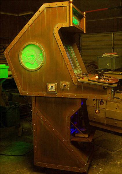 Steampunk Arcade Cabinet