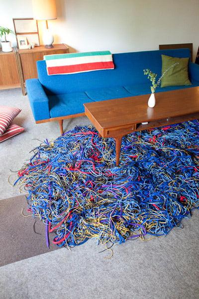 Shoelace Rug