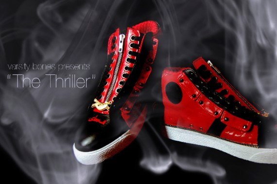 Thriller Custom Converses