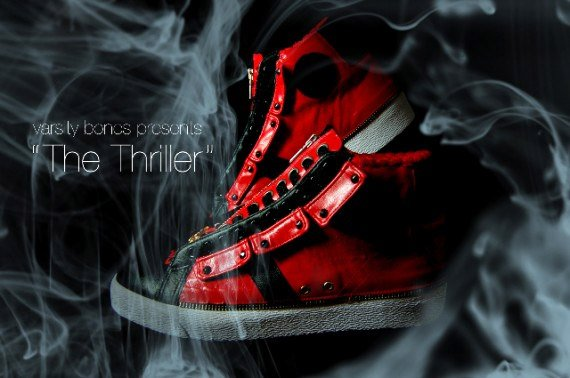 Thriller Custom Converses