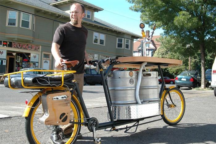 Beer & Pizza Bike