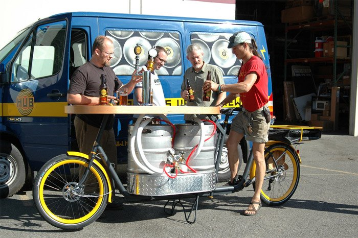 Beer & Pizza Bike