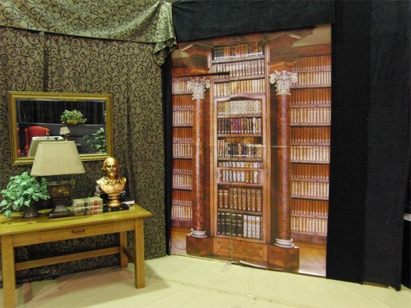 Secret Bookcase Entrance