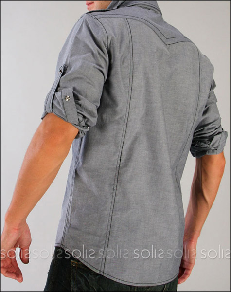Logan Hooded Button-Up