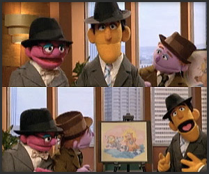 Sesame Street x Mad Men
