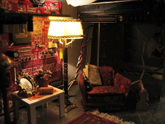 Living Room Case Mod