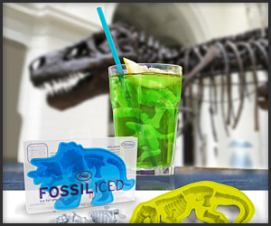 Fossiliced Ice Cubes