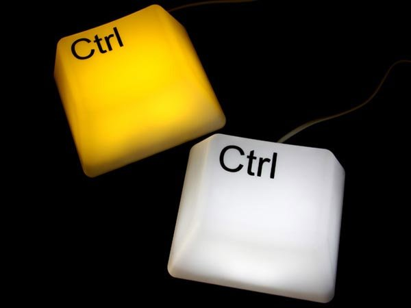 CTRL/SHIFT Key Lamps