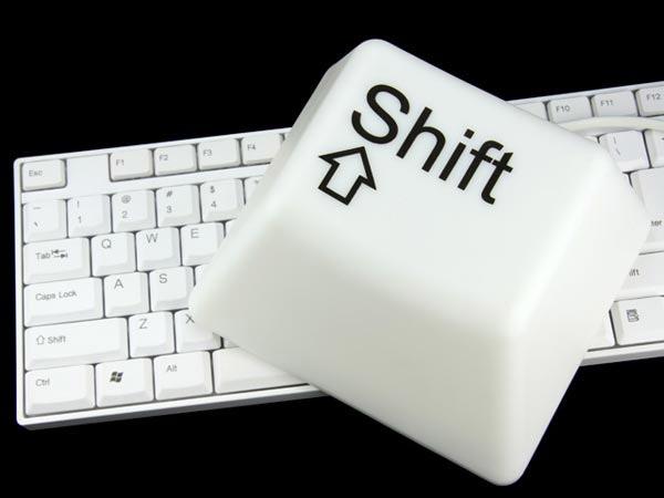 CTRL/SHIFT Key Lamps