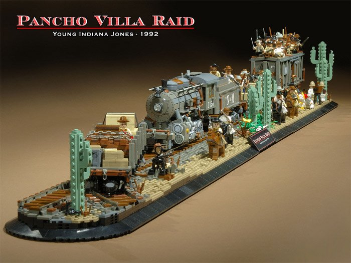 LEGO Train Diorama
