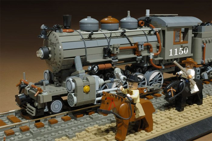 LEGO Train Diorama