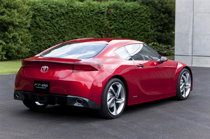 Concept: Toyota FT-86