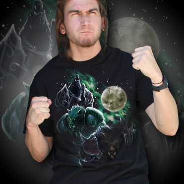 Three Worgen Moon Tee