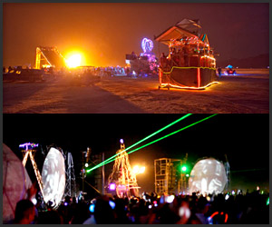 Time Lapse: Burning Man
