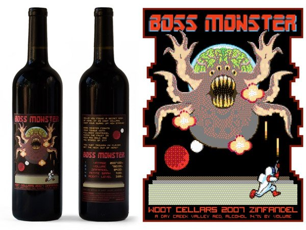 Boss Monster Zinfandel