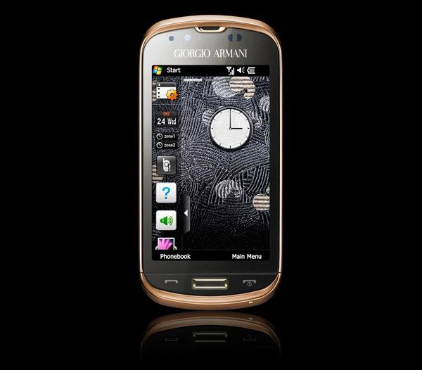 Armani x Samsung Phone
