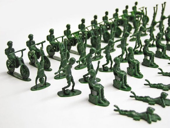 UNICEF Toy Soldiers
