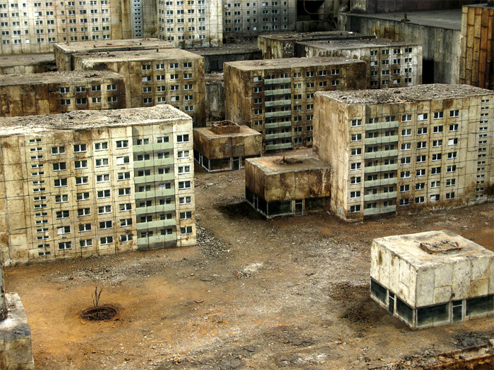 Art: Stenciled Buildings