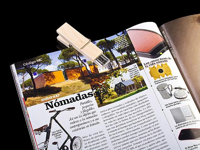 Wooden Clip USB Drive