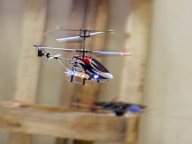 USB IR Helicopter
