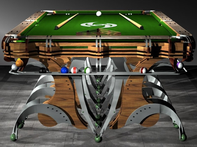 Mantis Custom Pool Table The Awesomer