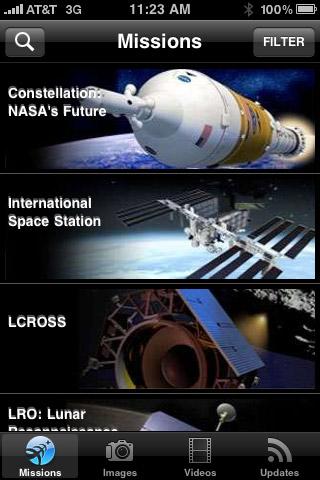 Mobile App: NASA