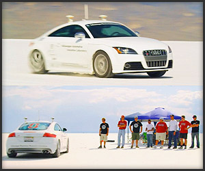 Video: Robotic Audi TTS