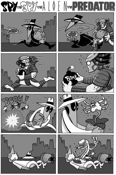 Comic Strip Mashups