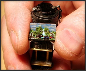 World's Tiniest Model Train