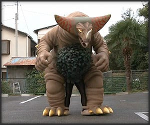 Giant Gomora Costume