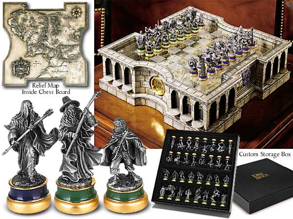 LotR Collector's Chess Set