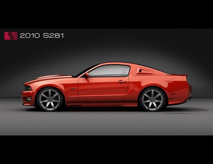 2010 Saleen Mustang