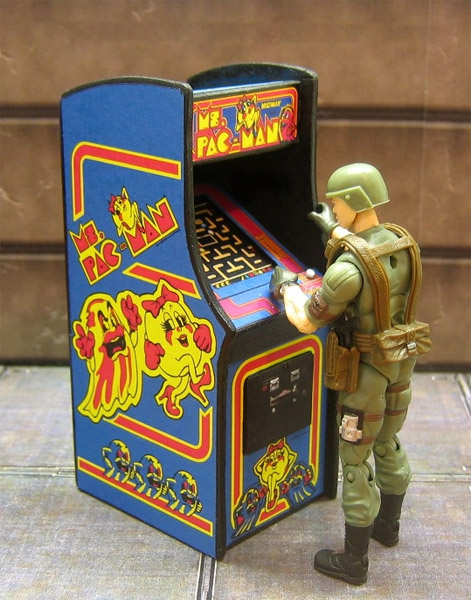 Mini Arcade Cabinets