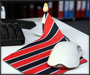 Mr. Tie Mouse Pad