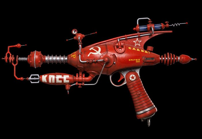 One Of A Kind Rayguns The Awesomer