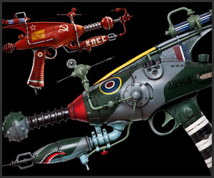 One-of-a-kind Rayguns