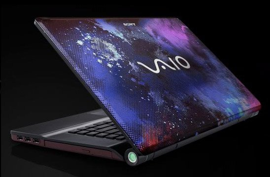 Vaio FW Nebula Laptop