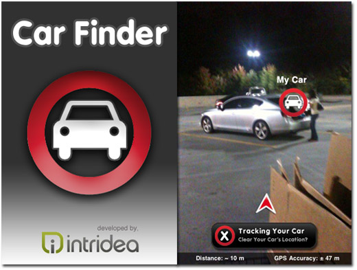 App: iPhone Car Finder