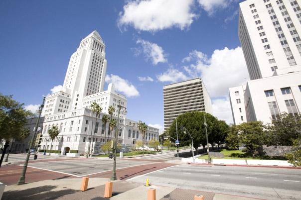 Photos: LA Without Traffic
