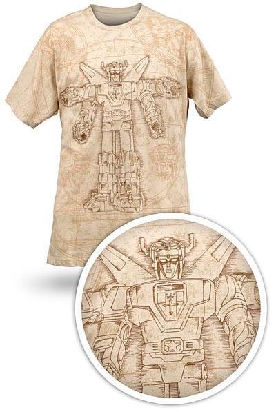 Vitruvian Voltron T-shirt