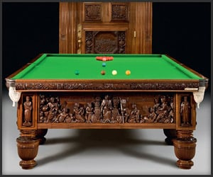 Queen's Jubilee Billiard Table
