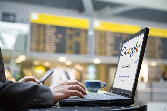 Free Wi-Fi: Google/Yahoo