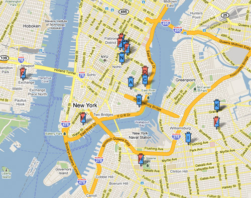Google Maps: Flu Shots