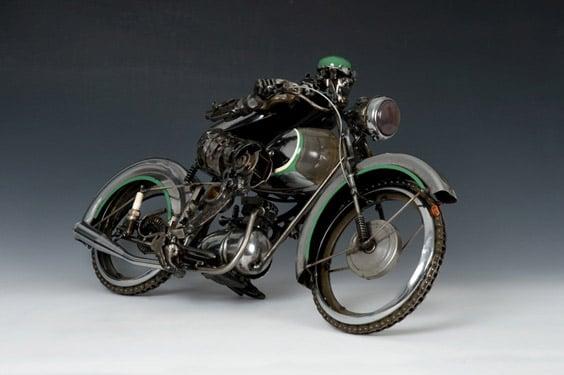 Car Parts Sculptures