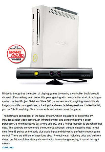 2009: 100 Best Innovations