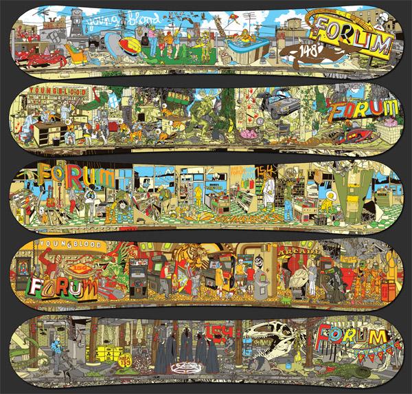 Stout x Forum Snowboards