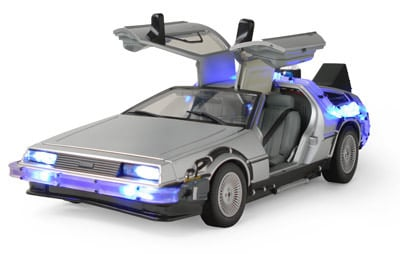 Lights & Sound DeLorean