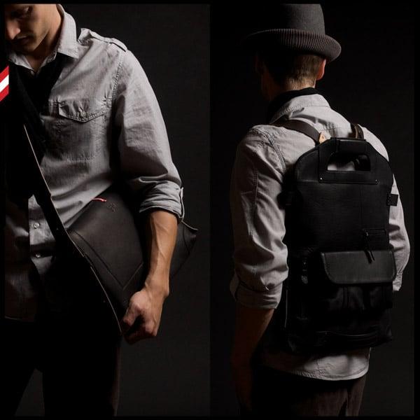 2UNFOLD Bag: Black