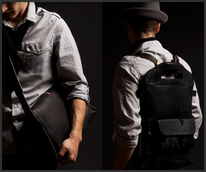 2UNFOLD Bag: Black