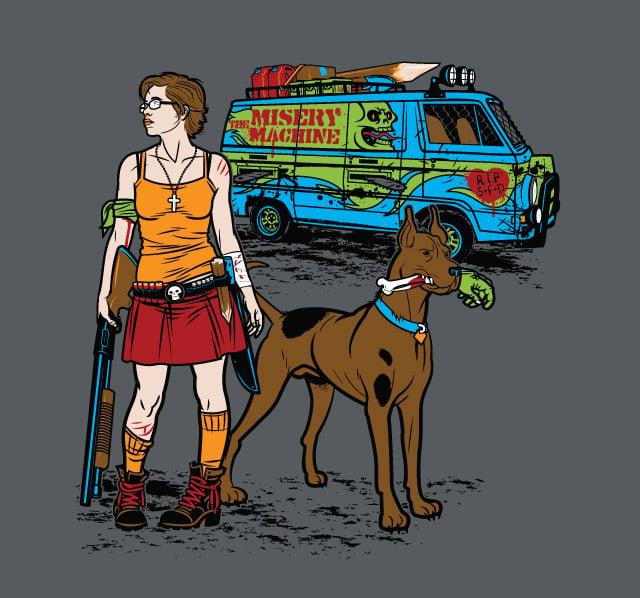 Zombie Scooby-Doo Tee